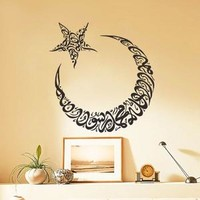 Moon and Star Wall Stickers