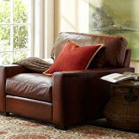 Turner Leather Armchair