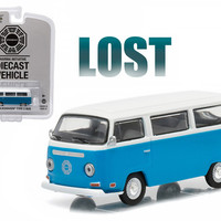 "1971 Volkswagen Type 2 Bus (T2B) \Lost"" TV Series (2004-2010) 1/64 Diecast Model by Greenlight"""