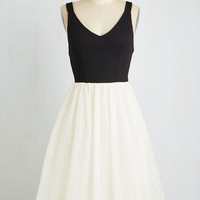 Mid-length Sleeveless Twofer Adore You to Move Dress by ModCloth