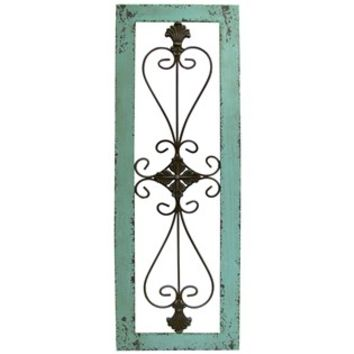 Turquoise Framed Metal Wall Decor | Shop Hobby Lobby