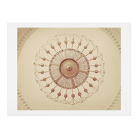 Happee Monkee Chateau Chandelier Art Print