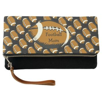 Football Mom Sports Clutch