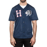 HUF - CHIEF BASEBALL JERSEY // NAVY