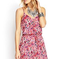 Dreamy Paisley Cami Dress