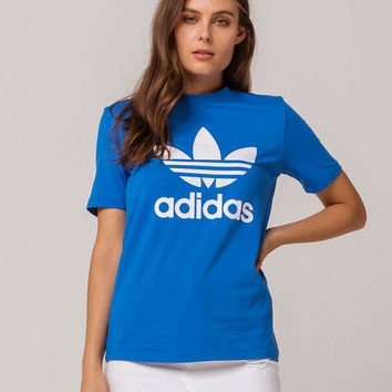 ADIDAS Trefoil Royal Womens Tee