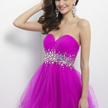 Homecoming dresses by Blush Prom Homecoming Style 9662