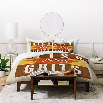 Anderson Design Group Kiss My Grits Duvet Cover