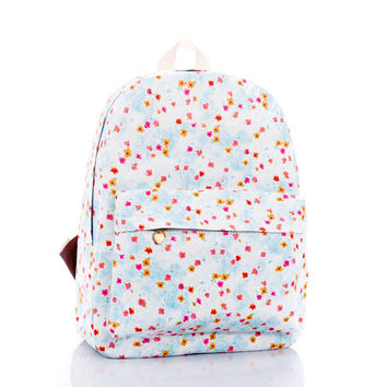 Denim Korean Lovely Cute Backpack = 4888058436