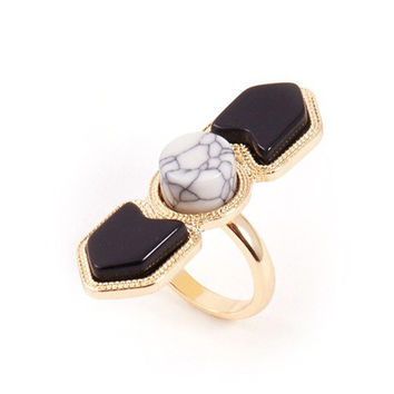 Shiny Stylish New Arrival Gift Jewelry Turquoise Hot Sale Ladies Ring [4956905220]
