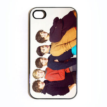 Apple iPhone 4 4G 4S 3D Printed Matte  Case Skin Cover Cute One Direction Phone Booth Design Available in Black or White Hard Case.