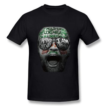 Nate Diaz Vs Conor McGregor 2 Mens Breathable Short Sleeve Tee