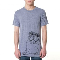 Tank - English Bulldog - Unisex Tee Shirt