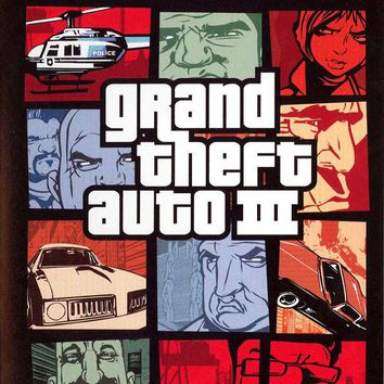 Grand Theft Auto for the Playstation 2