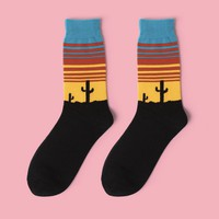 Desert Party Sock