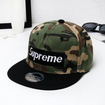 Supreme Hip Hop Motor Oil Racing Style Cap Hat