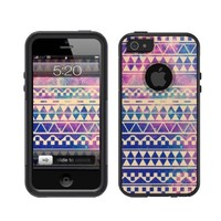 iPhone 5 Case [Black] Aztec Space [Dual Layer] UnnitoTM *1 Year Warranty* Case Protective [Custom] Commuter Protection Cover iPhone 5S
