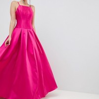 Jovani Square Neck Maxi Prom Dress at asos.com