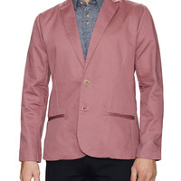 General Assembly Men's Sun Washed Chino Blazer - Purple -