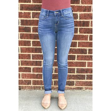 Mia Medium Wash Skinny Jeans