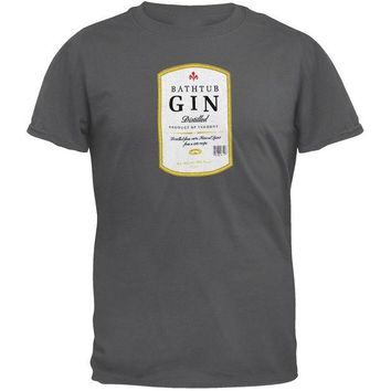 DCCKU3R Phish - Bathtub Gin Label Adult T-Shirt