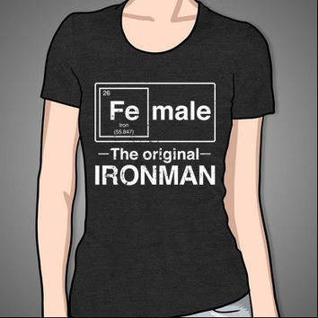Female - The Original Ironman (white)
