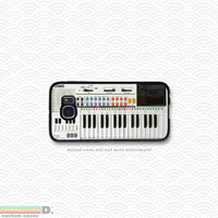 Retro 80's Keyboard, Custom Phone Case for Galaxy S4, S5, S6