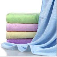 100% bamboo bath towel for adult 5 color avaialbel