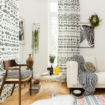 Drapes with Ethnic Allusion