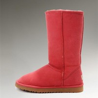 UGG Classic Tall Boots 5815 Red Enthusiasm
