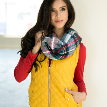 Quilted Puffer Vest - Regular & Plus Size!