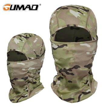 Camouflage Outdoor Balaclava Full Face Mask Bicycle Cycling Ski Bike Ride Snowboard Headgear Helmet Liner Tactical Paintball Hat