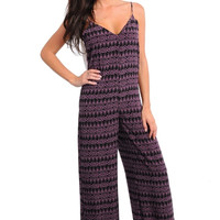 Low Back Bow Accent Tank Pant Romper