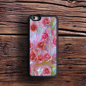 NOT holographic! Tumblr Flower Case iPhone 6s Plus, iPhone 6 case, iPhone 5s 5C 4s Case, Samsung Case, iPod case, iPad Case, HTC Case, Nexus Case, LG case, Xperia case