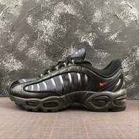 Supreme x Nike Air Max Tailwind IV 4 Black Sport Running Shoes - Best Online Sale