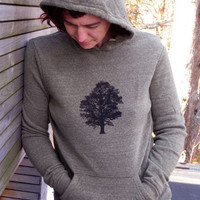 Oak Tree Hoodie, Unisex Hoodie, Hiking Sweater, Outdoor Pullover