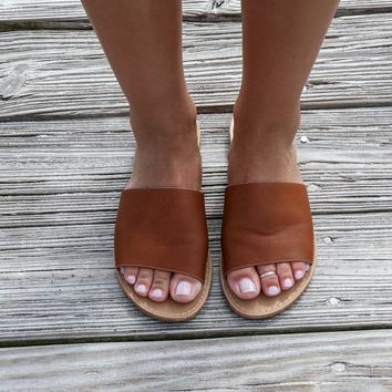 Addicted To Me Chestnut Slides
