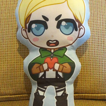 Erwin - Attack on Titan Pillow Plushie