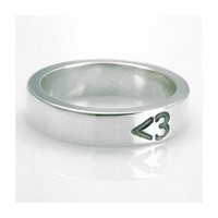 ShanaLogic.com - 100% Handmade  Independent Design! 3 (heart) Ring - Unisex - Best Sellers