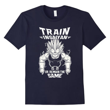 Soul train t shirt - Train insaiyan or remain the same