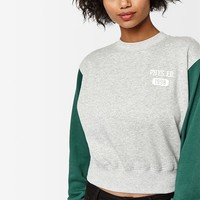 LA Hearts Colorblock Vintage Crew Neck Sweatshirt at PacSun.com