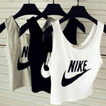 """Nike"" Fashion Vest Tank Top Cami Tee"