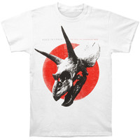 Alice In Chains Men's  Red Dot Slim Fit T-shirt White