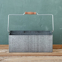 Galvanized Utility Basket