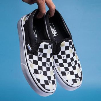 VANS Classic Checkerboard Slip-On Old Skool Flats Shoes Sneakers Sport Shoes