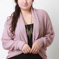 Loose Knit Dolman Cardigan
