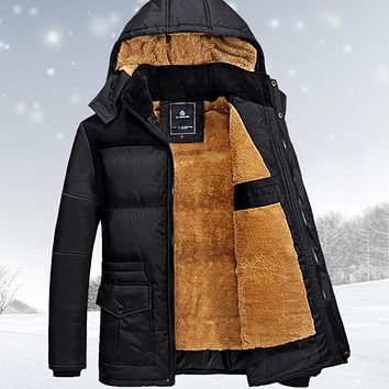 size M-5XL winter jacket men men's coat winter brand man clothes casacos masculino  Thick winter coat