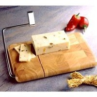 Butcher Block Cheese Slicer by Prodyne at Cooking.com