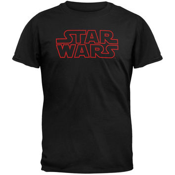 Star Wars - Outline Logo Adult T-Shirt