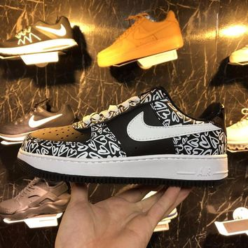 Nike Air Force 1Love Valentine's Day  Basketball Sneaker